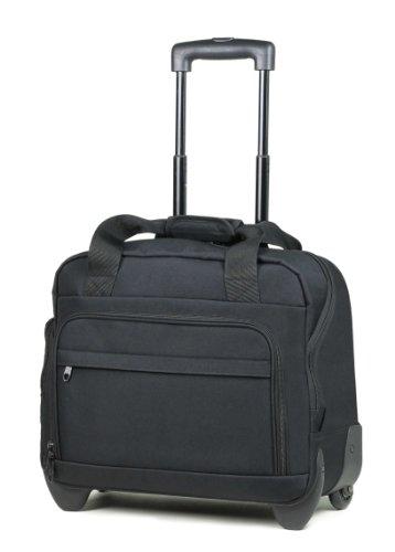 Members Essential on-board mochila maletín ligero portátil caso sobre ruedas – 45 x 37 x 20 cm, para mujer docente